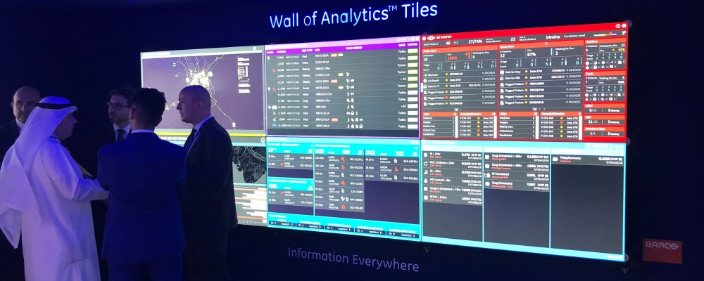 Barco and GE Healthcare Partners join forces at Arab Health to realize the  Healthcare Operations Center solution - News - Barco